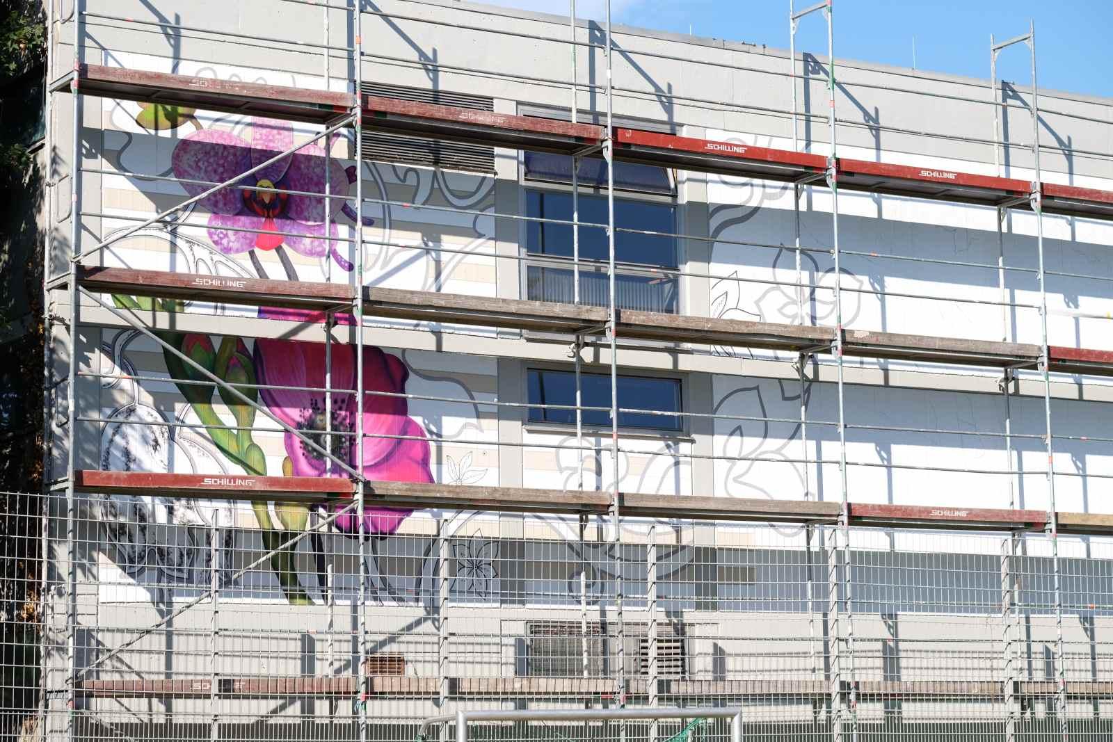 Mural Eröffnungsfeier