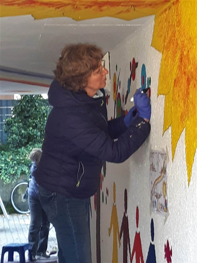 2021 Projekt Mural Schillerschule